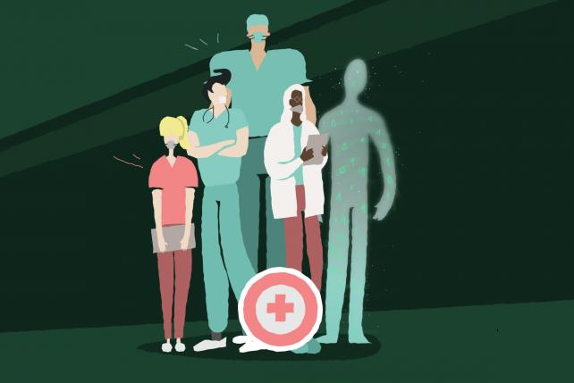 AI có thể cải thiện chăm sóc sức khỏe cho con người   Ảnh: Medical Futurist