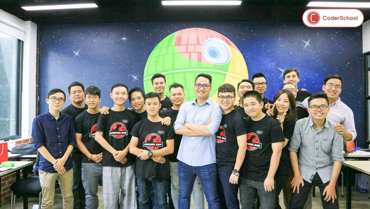 Đội ngũ phát triển của CoderSchool. Nguồn: CoderSchool