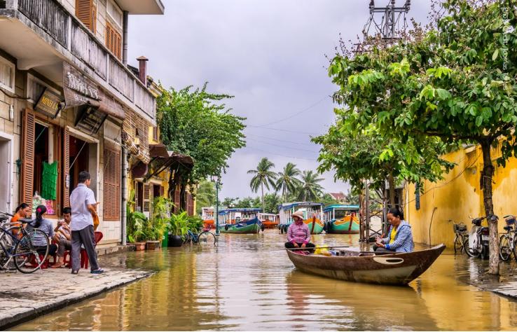 Việt Nam là một trong những quốc gia chịu ảnh hưởng nặng nề của biến đổi khí hậu   Nguồn: Báo cáo Groundswell 2021