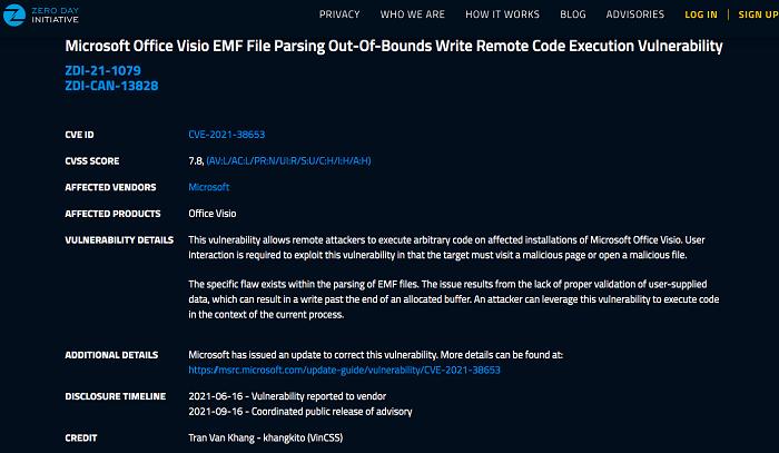 Thông tin từ website Microsoft và Adobe về các lỗ hổng bảo mật do Chuyên gia Trần Văn Khang phát hiện