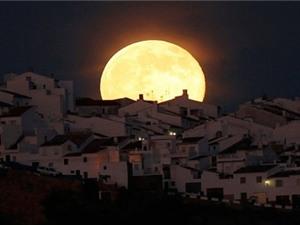 'Siêu trăng' chiếu sáng bầu trời đêm nay