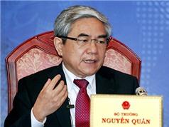 Bộ trưởng Nguyễn Quân: Nhập thiết bị cũ là tự hại mình