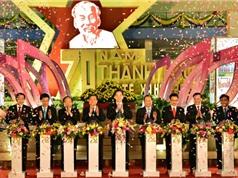 Khai mạc Triển lãm 70 năm Thành tựu Kinh tế - Xã hội Việt Nam