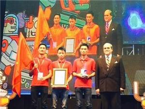 Việt Nam vô địch Robocon châu Á - Thái Bình Dương 2015