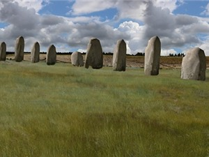 Phát hiện đài tế khổng lồ gần vòng tròn đá Stonehenge