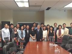 Bộ trưởng Nguyễn Quân tọa đàm với trí thức trẻ người Việt tại Mỹ