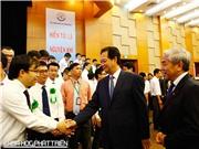 Trực tuyến: Thủ tướng Nguyễn Tấn Dũng gặp mặt các nhà khoa học trẻ