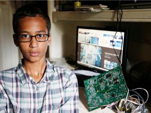 Ahmed Mohamed, ngôi sao mới nổi của nước Mỹ