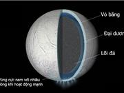 Có thể có một đại dương ẩn sâu dưới lớp vỏ của mặt trăng Enceladus của sao Thổ