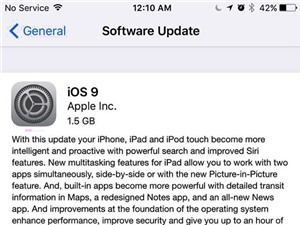 iOS 9 chính thức ra mắt: nhẹ hơn, bổ sung nhiều tính năng mới