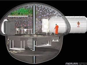 Pháp muốn xây nhà trên sao Hỏa bằng công nghệ in 3D
