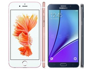 Samsung Galaxy Note 5 đọ sức iPhone 6s Plus