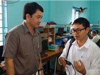 Đoàn công tác của Bộ Khoa học và Công nghệ làm việc với TS. Nguyễn Bá Hải