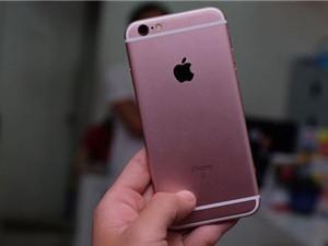 Cận cảnh iPhone 6S màu hồng đầu tiên tại TP.HCM