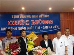Hai bệnh nhân ghép tạng xuyên Việt xuất viện