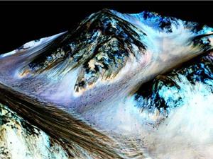 NÓNG: NASA tuyên bố có nước chảy trên sao Hỏa