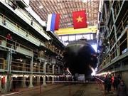 Nga hạ thủy tàu ngầm Kilo thứ 6 đóng cho Việt Nam
