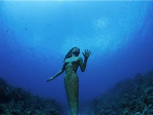 Kỳ bí những bức tượng lạ dưới lòng đại dương