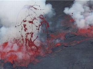 """Kỳ thú xem """"tóc"""" và """"nước mắt"""" núi lửa"""