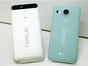 Chùm ảnh bộ đôi smartphone Nexus 5X và 6P