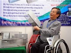 Người khuyết tật sáng chế máy bẫy chuột liên hoàn mới lạ