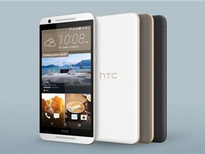 HTC âm thầm ra mắt chiếc One E9s Dual SIM