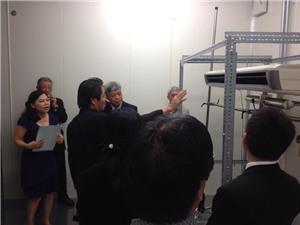 Lắp đặt hệ thống thiết bị thử nghiệm điều hòa không khí