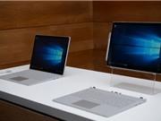 Cận cảnh máy tính bảng Surface Pro 4, laptop Surface Book
