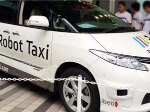 """Nhật Bản """"trình làng"""" dịch vụ taxi tự lái"""