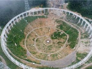 Trung Quốc xây kính thiên văn radio để tìm người ngoài hành tinh