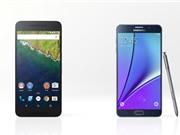 5 lý do nên chọn Galaxy Note 5 thay vì Google Nexus 6P