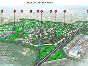 Cử tri Hà Nội đề nghị đẩy nhanh dự án Khu Công nghệ cao Hòa Lạc