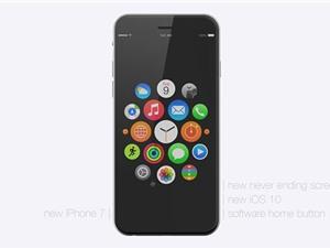 Cận cảnh concept iPhone 7 đẹp mê hồn