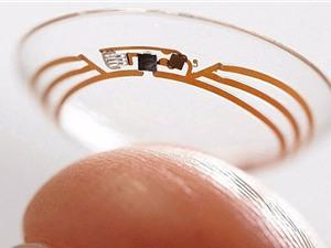Ra mắt kính áp tròng chạy bằng năng lượng mặt trời