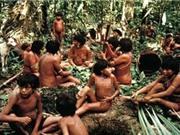 Kinh hãi hủ tục ăn tro người chết của bộ lạc ở Amazon