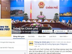 Chinhphu.vn tham gia Facebook