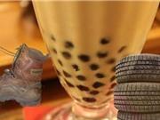 Trân châu trà sữa Trung Quốc làm từ... lốp xe, đế giày