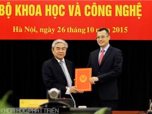 Trao quyết định bổ nhiệm Thứ trưởng Phạm Đại Dương