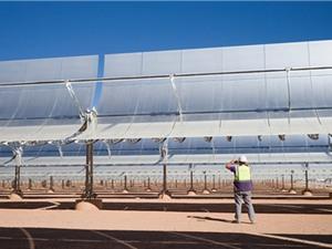 Siêu nhà máy điện giữa sa mạc Sahara