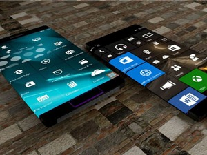 Ngắm bản concept điện thoại Windows Mobile màn hình cong đẹp mê hồn