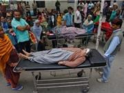 Động đất ở Nam Á: Số người thiệt mạng tăng lên gần 400 người