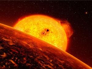 Hành tinh toàn dung nham trong vũ trụ