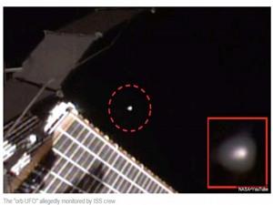UFO do thám trạm vũ trụ quốc tế ISS?