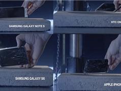 Clip: thử độ bền màn hình Motorola Droid Turbo 2