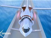 Máy bay siêu tốc từ Mỹ sang Anh mất 30 phút