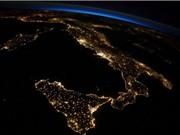 Trái đất lung linh về đêm nhìn từ Trạm vũ trụ quốc tế ISS