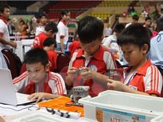 56 đội tranh tài trong Ngày hội Robothon thành phố Hà Nội
