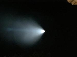 Hải quân Mỹ giải đáp về vệt sáng kỳ lạ trên bầu trời
