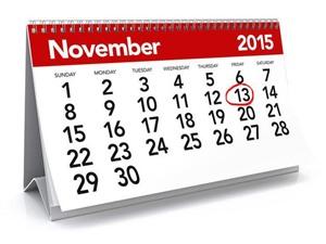 Ngày 13/11/15 với nhiều điều kỳ quặc