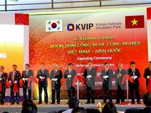 Khánh thành Vườn ươm Công nghệ công nghiệp Việt Nam-Hàn Quốc